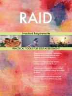 RAID Standard Requirements