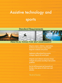 Assistive technology and sports Standard Requirements