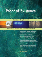 Proof of Existence Standard Requirements