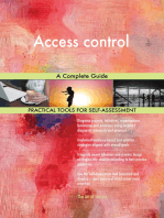 Access control A Complete Guide