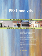 PEST analysis A Clear and Concise Reference