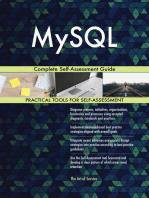 MySQL Complete Self-Assessment Guide