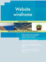 Website wireframe Third Edition