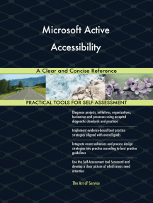 Microsoft Active Accessibility A Clear and Concise Reference