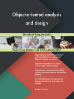 Object-oriented analysis and design Standard Requirements