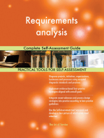 Requirements analysis Complete Self-Assessment Guide