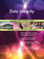 Data integrity Complete Self-Assessment Guide