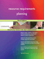 resource requirements planning Third Edition
