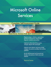Microsoft Online Services Complete Self-Assessment Guide