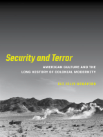 Security and Terror: American Culture and the Long History of Colonial Modernity