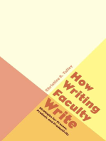 How Writing Faculty Write