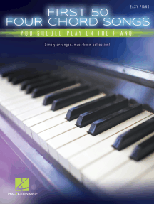 First 50 4-Chord Songs You Should Play on the Piano