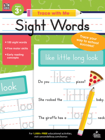 Trace with Me Sight Words