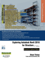 Exploring Autodesk Revit 2018 for Structure, 8th Edition