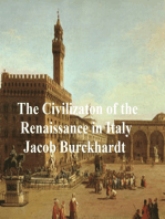 The Civilization of Renaissance in Italy