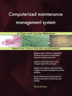 Computerized maintenance management system A Clear and Concise Reference