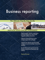 Business reporting The Ultimate Step-By-Step Guide