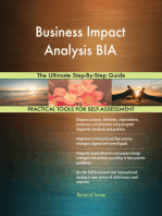 Business Impact Analysis BIA The Ultimate Step-By-Step Guide