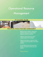 Operational Resource Management A Complete Guide