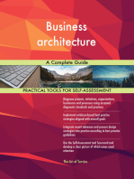 Business architecture A Complete Guide
