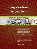 Filesystem-level encryption A Clear and Concise Reference