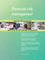 Financial risk management Standard Requirements