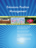 Emissions Position Management Complete Self-Assessment Guide