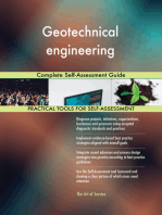 Geotechnical engineering Complete Self-Assessment Guide