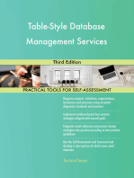 Table-Style Database Management Services Third Edition