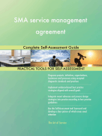 SMA service management agreement Complete Self-Assessment Guide