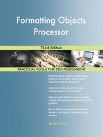 Formatting Objects Processor Third Edition