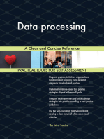 Data processing A Clear and Concise Reference