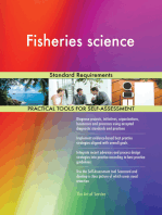 Fisheries science Standard Requirements