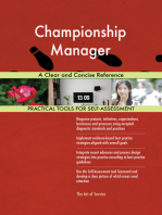 Championship Manager A Clear and Concise Reference