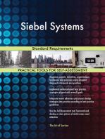 Siebel Systems Standard Requirements