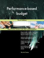 Performance-based budget Third Edition