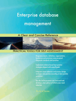 Enterprise database management A Clear and Concise Reference