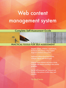 Web content management system Complete Self-Assessment Guide