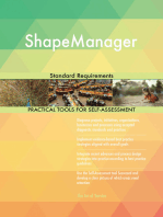 ShapeManager Standard Requirements