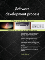 Software development process A Clear and Concise Reference