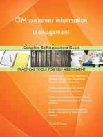 CIM customer information management Complete Self-Assessment Guide