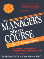 The Manager's Short Course to a Long Career