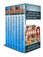 Happy Bear Cafe Series Books 1-7