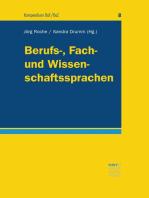 Berufs-, Fach- und Wissenschaftssprachen