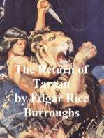 The Return of Tarzan, Second Novel of the Tarzan Series