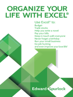 Organize Your Life With Excel