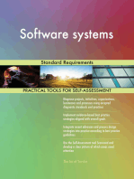 Software systems Standard Requirements