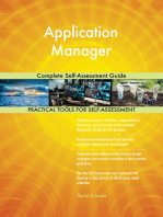 Application Manager Complete Self-Assessment Guide