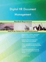 Digital HR Document Management Standard Requirements