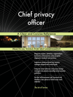 Chief privacy officer A Clear and Concise Reference